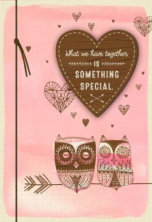 Something Special Together Valentine's Day Card