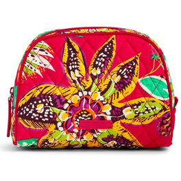 Vera Bradley Medium Zip Cosmetic Case in Rumba, , large