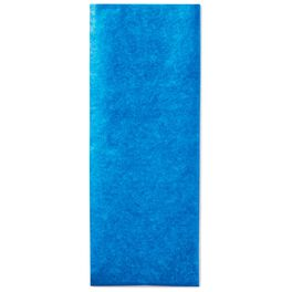 Blue Tissue Paper, 8 Sheets, , large