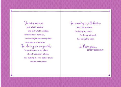 Mom Youre the Best Birthday Card Greeting Cards Hallmark – Birthday Cards for Mom