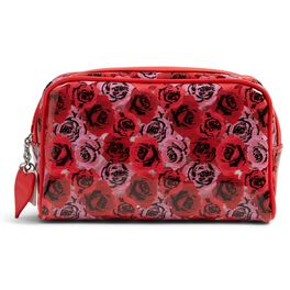 Vera Bradley Lots of Love Cosmetic Bag in Havana Hothouse, , large