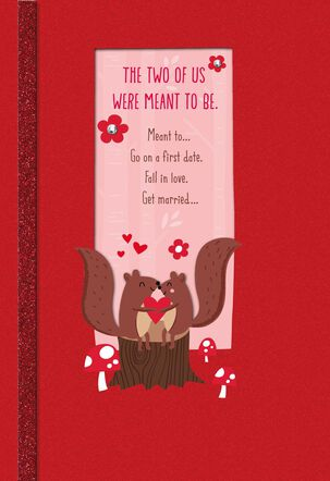 Crazy About You Religious Valentine's Day Card