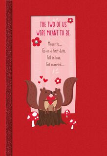 Crazy About You Religious Valentine's Day Card,
