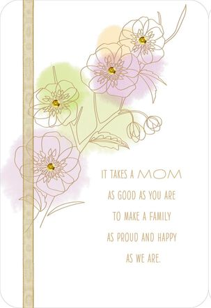 Mother's Day Card From a Thankful Family