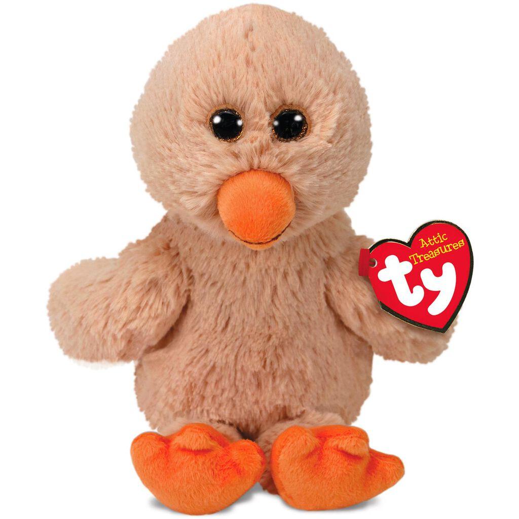 Ty Attic Treasures Small Debbie Duck Stuffed Animal 8 Classic
