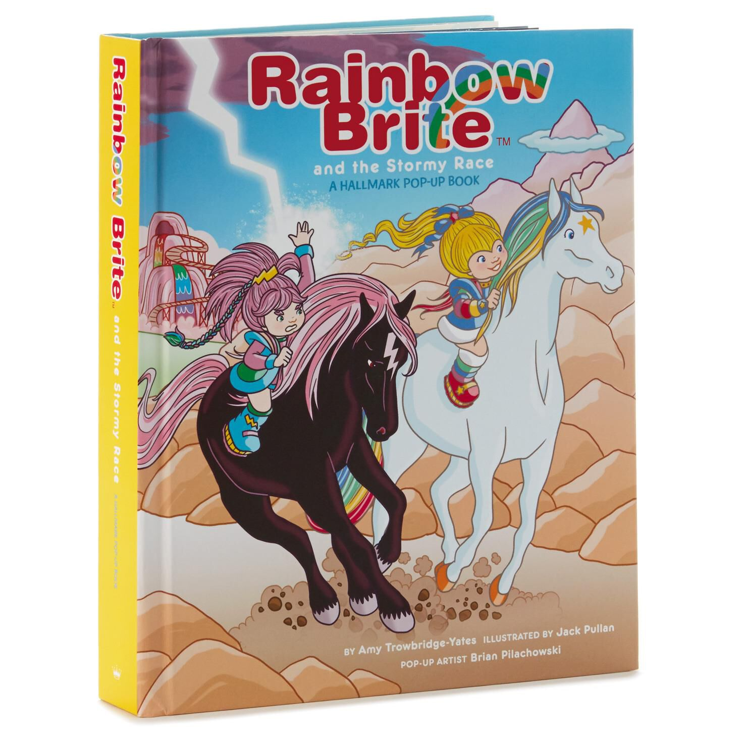 rainbow brite and the stormy race pop up book kids books hallmark