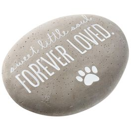 Sweet Little Soul Beloved Pet Garden Stone, , large