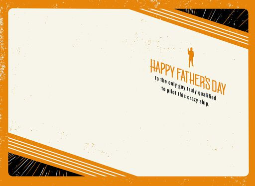 Star Wars™ Millennium Falcon™ Father's Day Card,