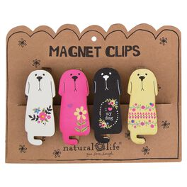 Natural Life Dog Magnet Clips—Set of 4, , large