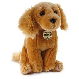 Devoted Golden Dog Large Stuffed Animal, , large