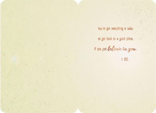 Just Believe in You Encouragement Card,