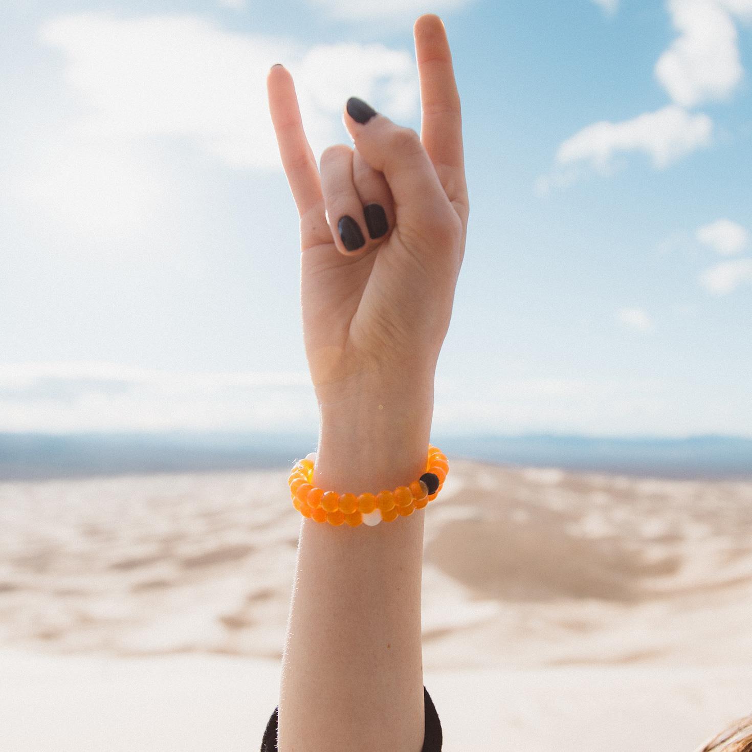 image regarding Lokai Bracelet Meaning Printable titled Confined Version (Orange) Lokai Bracelet, Medium