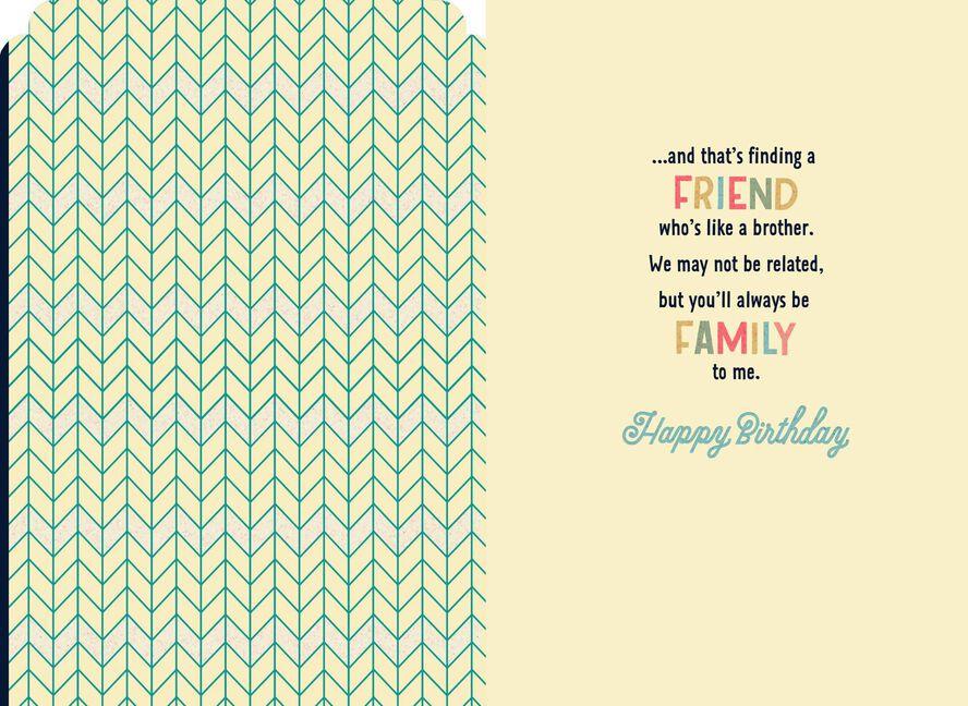 Like A Brother Birthday Card Greeting Cards Hallmark