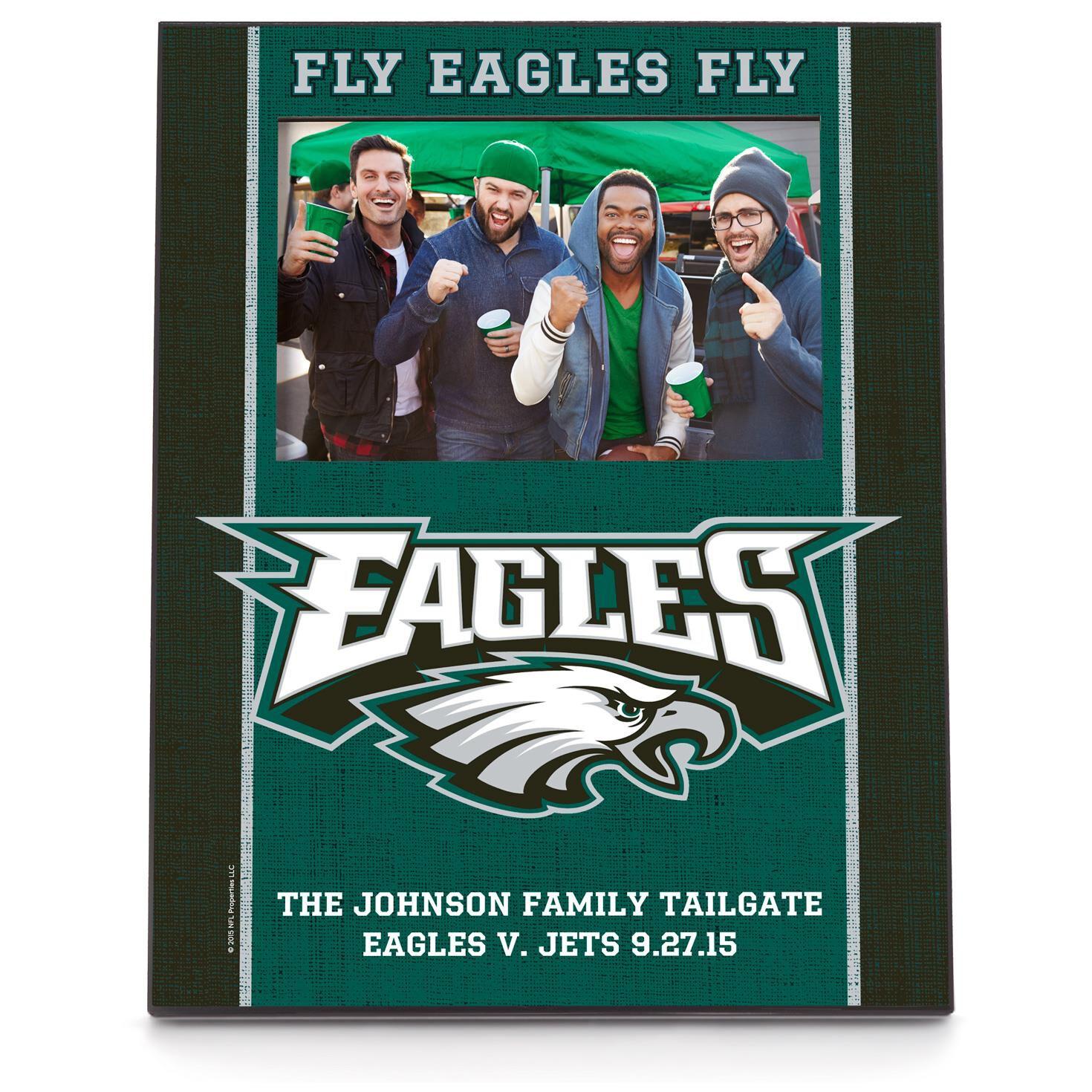 Philadelphia eagles personalized 4x6 picture frame personalized philadelphia eagles personalized 4x6 picture frame personalized home decor hallmark jeuxipadfo Image collections
