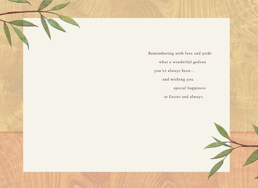 Wonderful Godson Easter Card,