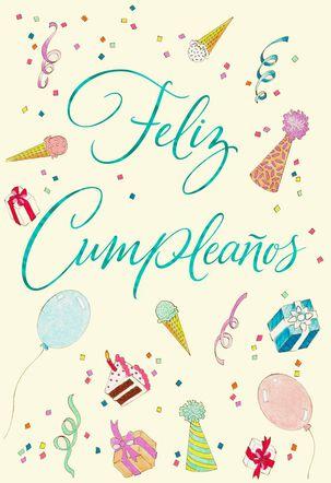 May Your Heart Feel Happy Spanish-Language Birthday Card