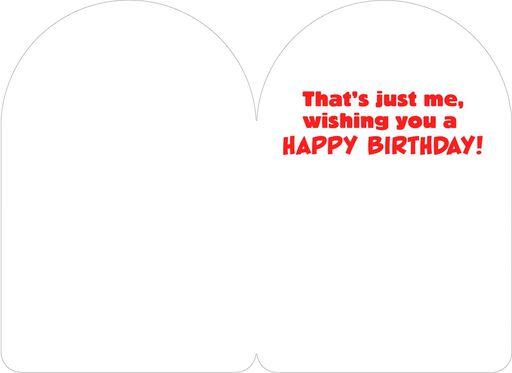Spider-Man Spidey-Sense Birthday Card,