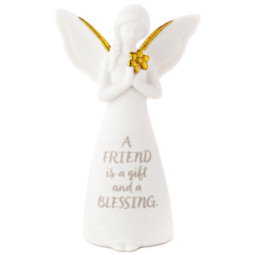 Cherished Blessings Angel and Baby Figurine Baby Shower Favor Gift