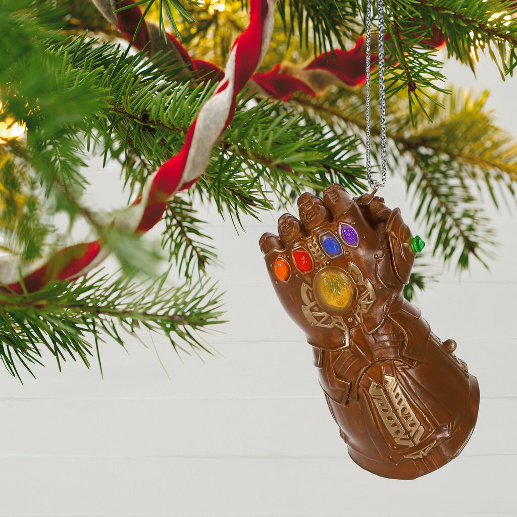 Marvel Studios Avengers Endgame Infinity Gauntlet Ornament With
