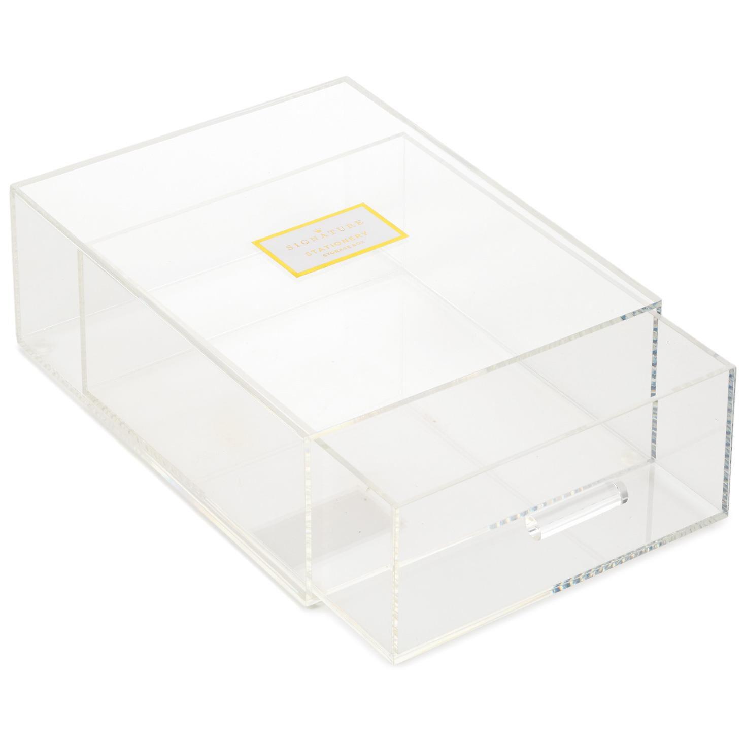 Stationery Storage Box Desk Accessories Hallmark