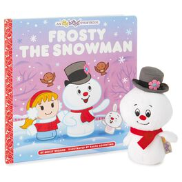 itty bittys® FROSTY THE SNOWMAN™ Stuffed Animal and Storybook Set, , large
