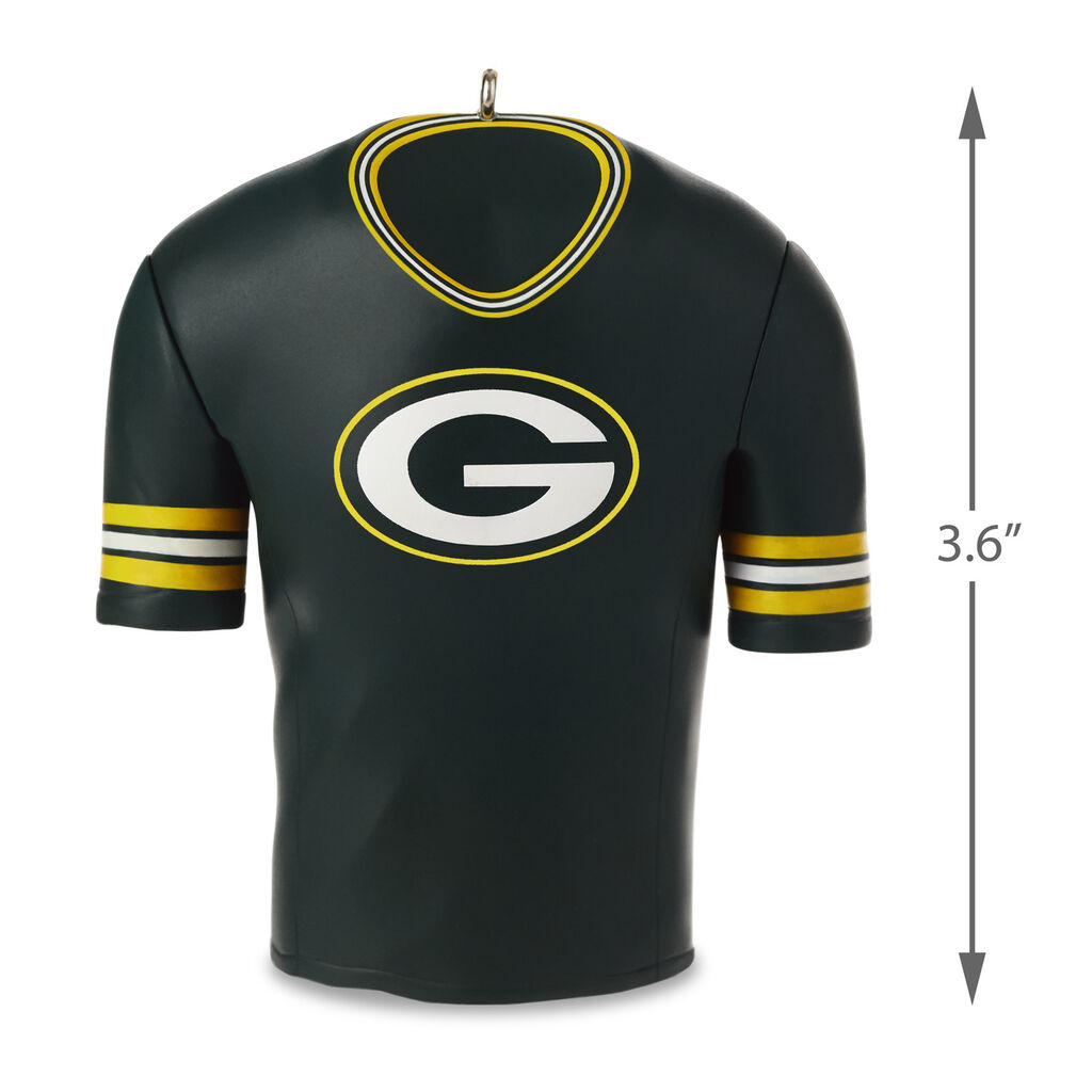 reputable site c5fd6 6c13b Green Bay Packers Jersey Ornament