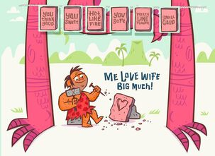 Big Valentine For Wife