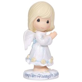 Precious Moments® Keep Him Always in Your Heart Figurine, , large