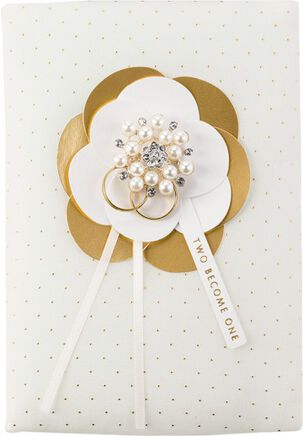 Two Become One Wedding Card