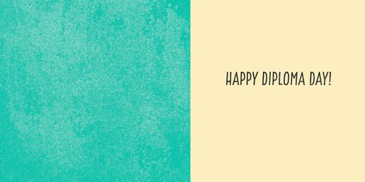 Happy Diploma Day! Musical Graduation Card,