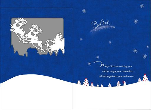 Magic To Remember Christmas Card,