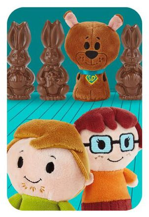 Scooby-Doo itty bittys® Greetings Easter Card