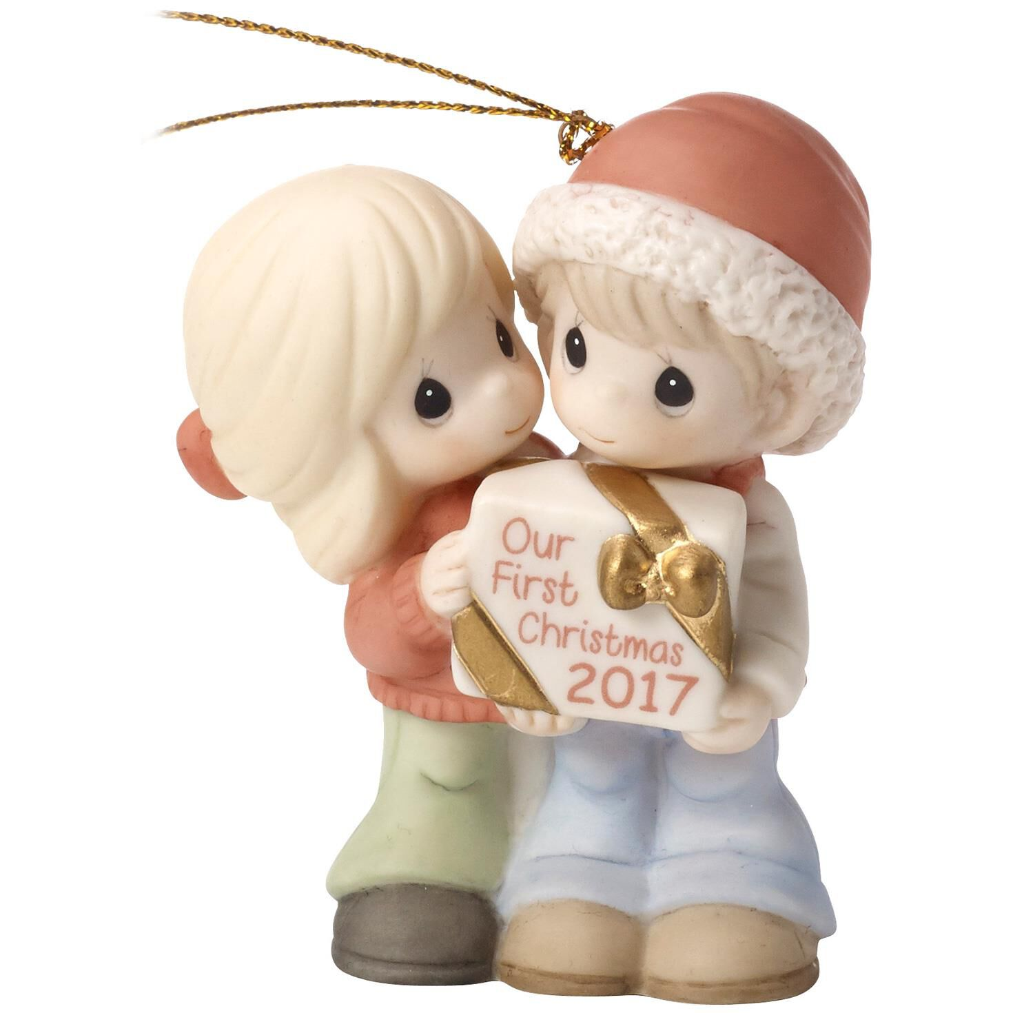 Precious Moments® Our First Christmas Together 2017 Ornament ...
