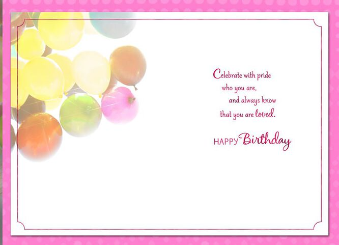 Buoyant Balloons Daughter Birthday Card Greeting Cards Hallmark – Daughter Birthday Cards