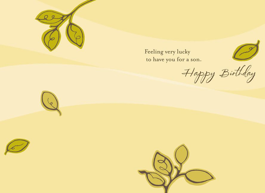 Boy On Beach Birthday Card For Son Greeting Cards Hallmark