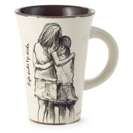 Life Side-by-Side Sisters Mother Daughter Mug, 12 oz., , large