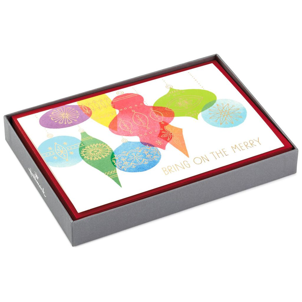 Bring on the Merry Christmas Cards, Box of 16 - Boxed Cards - Hallmark