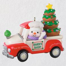 Holiday Parade Bakery Truck 2020 Ornament Keepsake Ornaments Hallmark