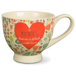 A Mother's Heart Mug, 17 oz., , large