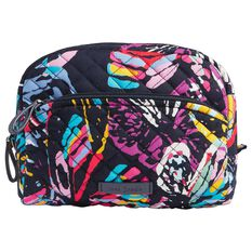 Vera Bradley Iconic Medium Cosmetic Bag In Butterfly