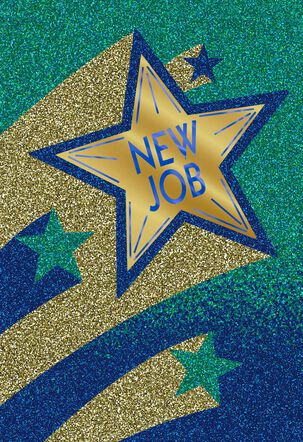 Gold Star New Job Card