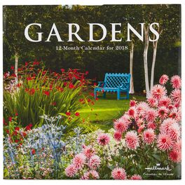 Gorgeous Floral Gardens 2018 Wall Calendar, 12-Month, , large