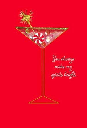 Making Spirits Bright Christmas Card