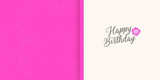 All Things Wonderful Musical Birthday Card,