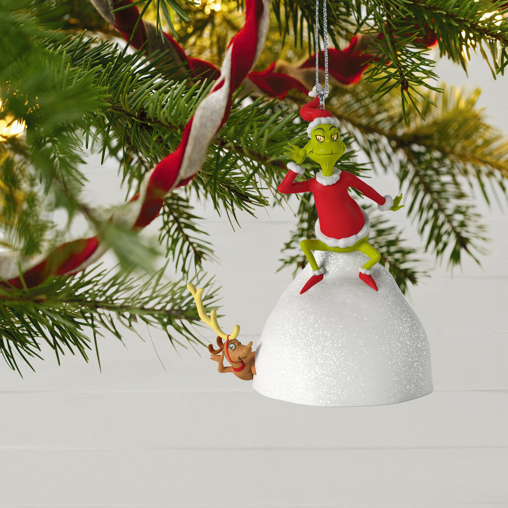 Welcome Christmas Musical Ornament Dr. Seuss How the Grinch Stole Christmas!™ Welcome Christmas Musical Ornament ...