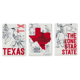 Texas Magnets, Ceramic Set of 3, , large