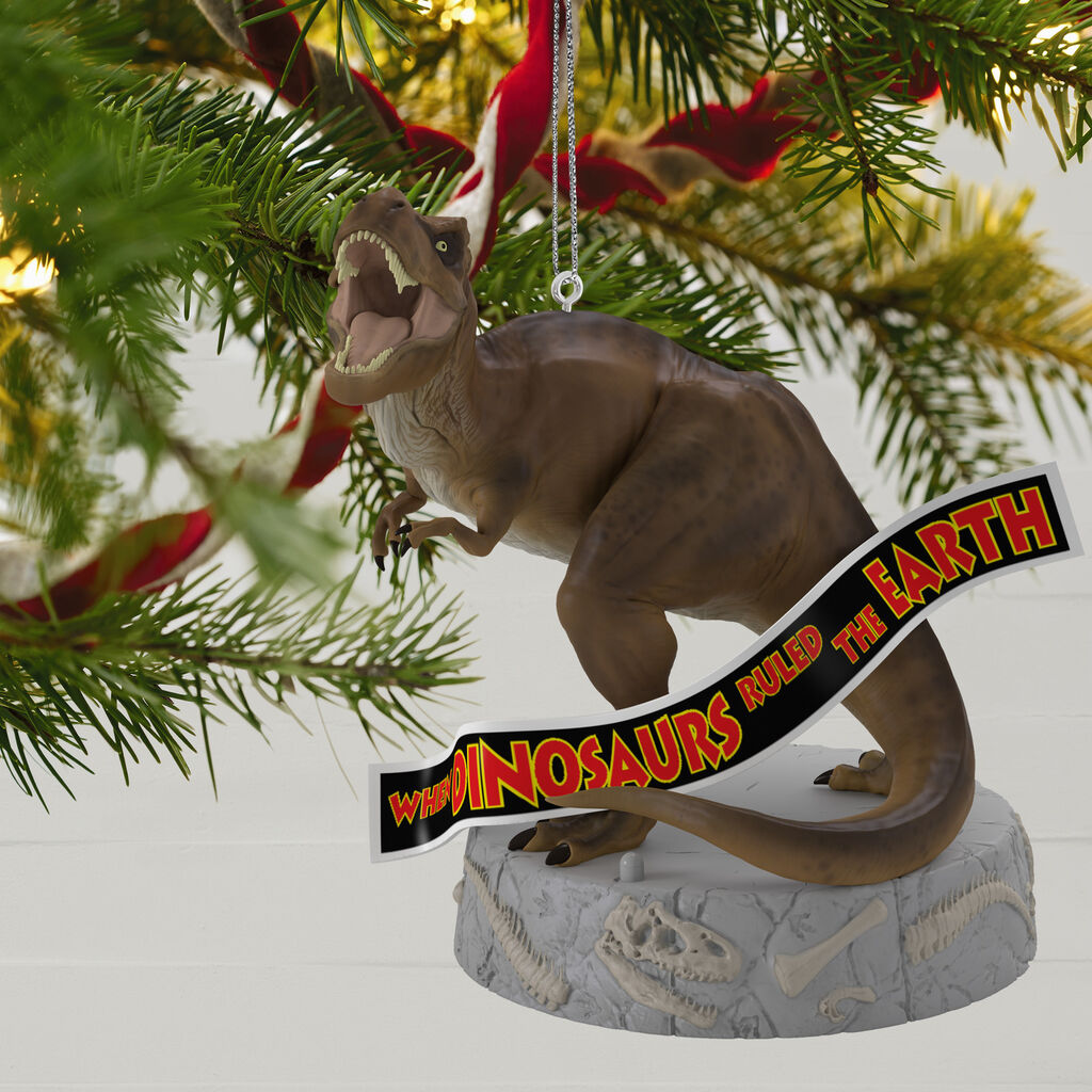 Jurassic Park™ When Dinosaurs Ruled the Earth Musical Ornament