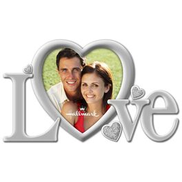 Love With Bling Metal Malden Picture Frame, 2x3, , large