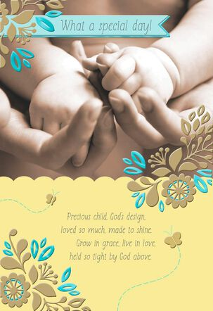 This Precious Child Christening Card