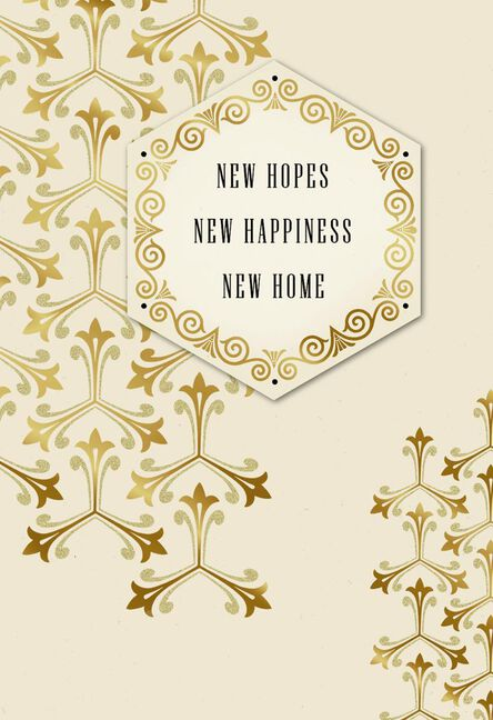 New Hopes New Home Congratulations Card Greeting Cards Hallmark